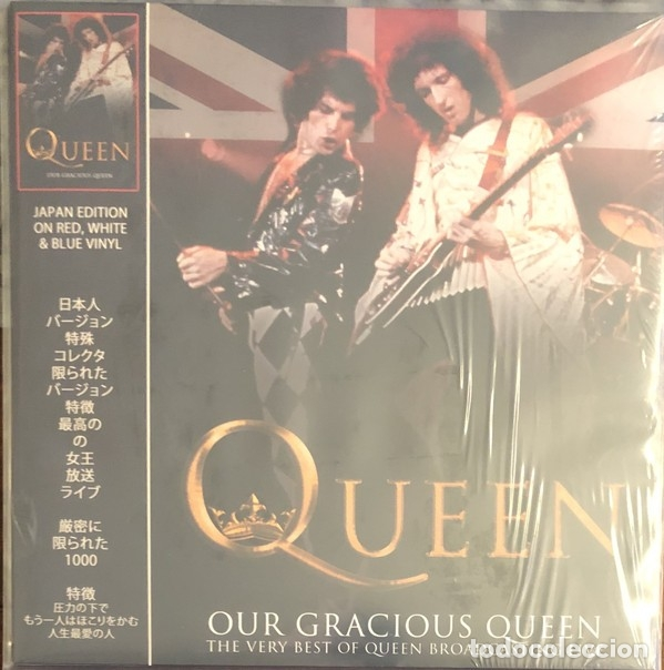 QUEEN ?– OUR GRACIOUS QUEEN - THE VERY BEST OF QUEEN BROADCASTING LIVE (Música - Discos - LP Vinilo - Rock & Roll)