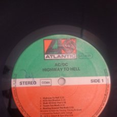 Discos de vinilo: LP - AC / DC - HIGHWAY TO HELL. Lote 38076800