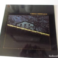 Discos de vinilo: GABONAK HERRIKO JAIAK (GRABACION ESPECIAL DE MUSICA AUTOCTONA VASCA) - GATEFOLD - LP. Lote 172833953