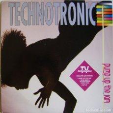 Discos de vinilo: TECHNOTRONIC -PUMP UP THE JAM, MAX MUSIC-LP 385. Lote 172843502