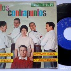 Discos de vinilo: LOS CONTRAPUNTOS - DESAFINADO - EP 1962 - BELTER. Lote 172847449