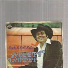 Disques de vinyle: SLEEPY LABEEF ROCK RUBY. Lote 172851077