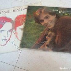 Discos de vinilo: MIGUEL BOSE: LINDA + MADE IN SPAIN. Lote 172854955