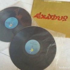 Discos de vinilo: BOB MARLEY: KAYA+EXODUS+BURNIN. Lote 172855173