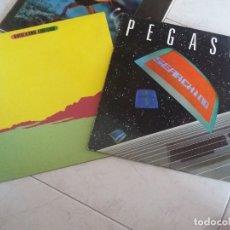 Discos de vinilo: PEGASUS: SEARCHING + LLUIS LLACH: ITACA. Lote 172855219