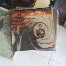 Discos de vinilo: FRANCK POURCEL: JAMES BOND'S GREATEST HITS. Lote 172855708