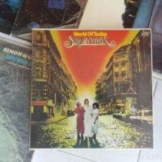 Discos de vinilo: SUPERMAX. WORLD OF TODAY. Lote 172855817