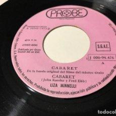 Discos de vinilo: LIZA MINNELLI - CABARET. Lote 172857930