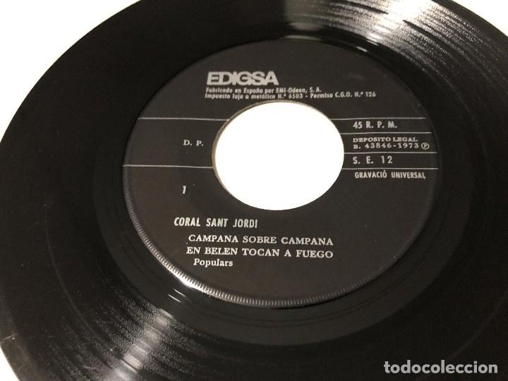 CORAL SANT JORDI - NAVIDAD 1973 (Música - Discos - Singles Vinilo - Otros estilos)