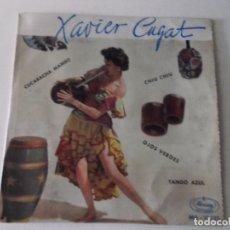 Discos de vinilo: XAVIER CUGAT CUCARACHA MAMBO OJOS VERDES + 2, EP,1959, LATIN. Lote 172859150