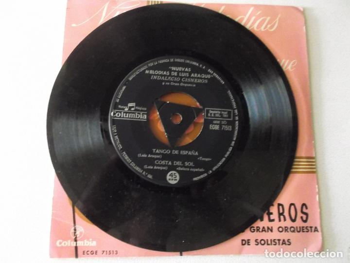 Discos de vinilo: nuevas melodias de luis araque,,sala de conciertos,costa del sol,amor en estoril,tango de españa, - Foto 3 - 172859579