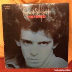 Discos de vinilo: LOU REED - ROCK AND ROLL HEART (LP, ALBUM) (ARISTA) (C:VG,V:VG+) TARIFA PLANA ENVÍO ESPAÑA. Lote 172860702
