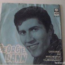 Discos de vinilo: GEORGIE DANN - SPAIN 1966 - CATEDRAL DE WINCHESTER / KILIMANDJARO - . Lote 172861200