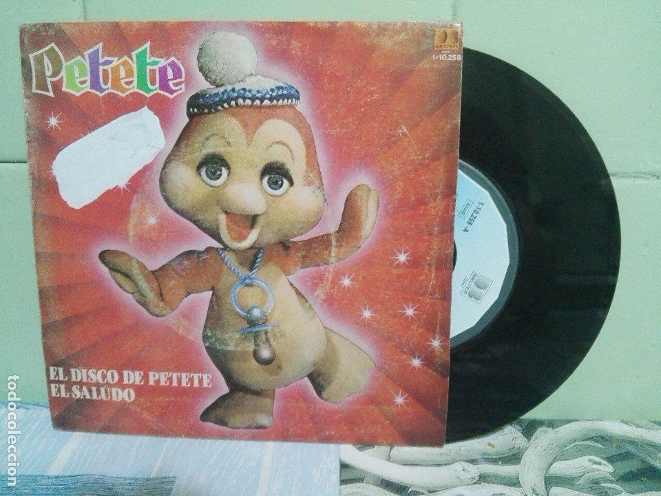 PETETE EL DISCO DE PETETE SINGLE SPAIN 1982 PDELUXE (Música - Discos - Singles Vinilo - Música Infantil)