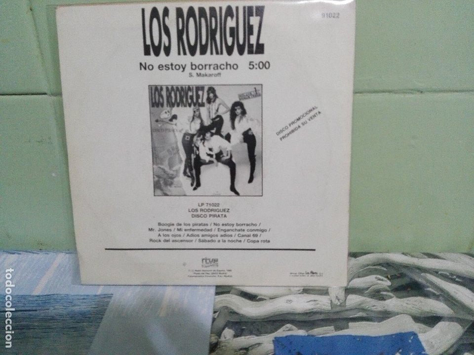 Discos de vinilo: LOS RODRIGUEZ NO ESTOY BORRACHO SINGLE SPAIN 1992 PDELUXE - Foto 2 - 172863047