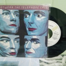 Discos de vinilo: KRAFTWERK THE TELEPHONECALL SINGLE SPAIN 1987 PDELUXE. Lote 172863435