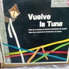 Discos de vinilo: VUELVE LA TUNA LP . Lote 172874244
