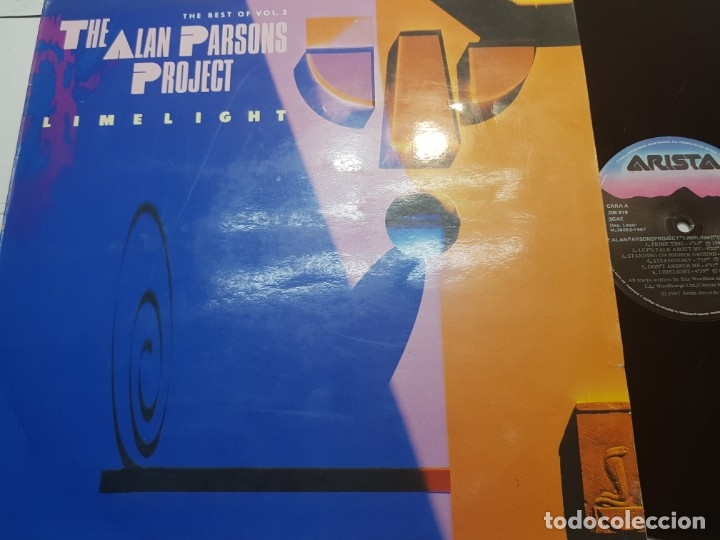 LP THE ALAN PARSON PROJECT EN FUNDA ORIGINAL 1987 (Música - Discos - LP Vinilo - Pop - Rock - New Wave Extranjero de los 80)