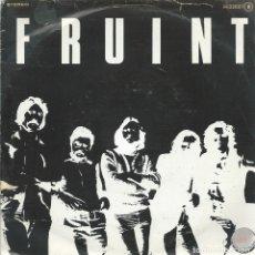 Discos de vinilo: FRUINT, FRUINT/LA FONT DEL CUENTO. (CHAPA,1979) -PROMO-. Lote 172879122