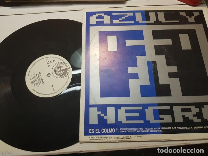 Discos de vinilo: LP Azul y Negro -Es el Colmo - en funda original 1988 - Foto 2 - 172879215
