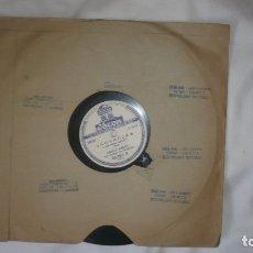 Discos de vinilo: CARLOS GARDEL -DISCO VINILO: AÑORANZAS Y CUALQUIER COSA -ODEON. Lote 172879627