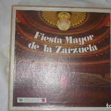 Discos de vinilo: FIESTA MAYOR DE LA ZARZUELA -PHILIPS; CINCO DISCOS. COLECCIÓN COMPLETA (VER DISCOS). Lote 172881913