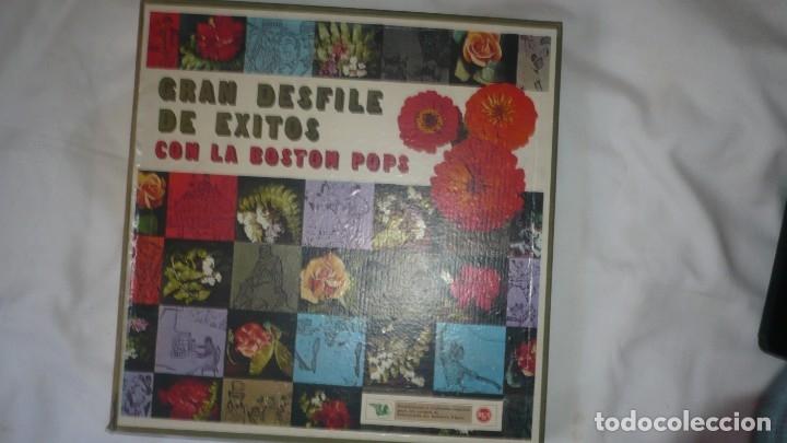 GRAN DESFILE DE ÉXITOS CON LA BOSTON POPS -RCA (FALTA EL DISCO 4 Y 8) (Música - Discos de Vinilo - Maxi Singles - Orquestas)