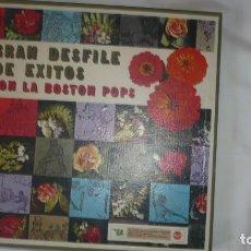 Discos de vinilo: GRAN DESFILE DE ÉXITOS CON LA BOSTON POPS -RCA (FALTA EL DISCO 4 Y 8). Lote 172883097