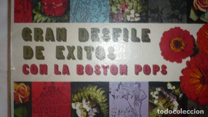 Discos de vinilo: Gran desfile de éxitos con la Boston Pops -RCA (falta el disco 4 y 8) - Foto 2 - 172883097