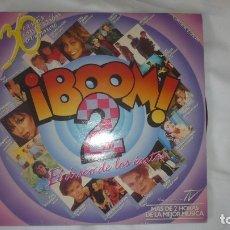Discos de vinilo: ¡BOOM! 2 - 30 ÉXITOS EN VERSIÓN ORIGINAL -DOS DISCOS VINILO -EMI 1986. Lote 172883363