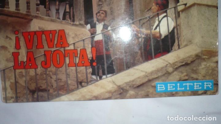 Discos de vinilo: ¡Viva la jota!; jotas de baile Calanda y Albalate. Jotas de picadillo. Jota de Alcañiz - Foto 2 - 172884504