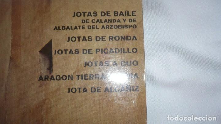 Discos de vinilo: ¡Viva la jota!; jotas de baile Calanda y Albalate. Jotas de picadillo. Jota de Alcañiz - Foto 3 - 172884504