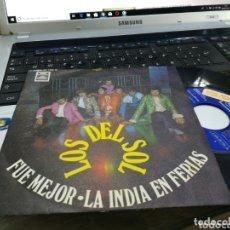Discos de vinilo: LOS DEL SOL SINGLE FUE MEJOR 1969. Lote 172886253