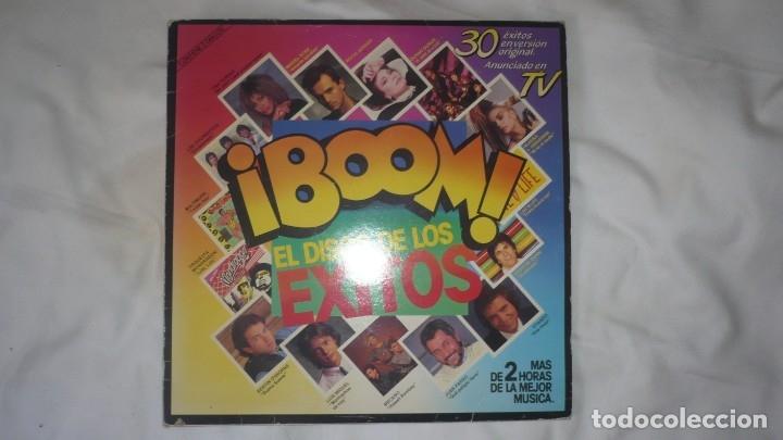 ¡BOOM! EL DISCO DE LOS ÉXITOS (DOS LP.S) (Música - Discos de Vinilo - Maxi Singles - Grupos Españoles de los 70 y 80)