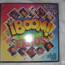 Discos de vinilo: ¡BOOM! EL DISCO DE LOS ÉXITOS (DOS LP.S). Lote 172888048