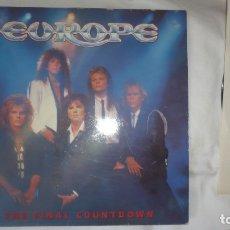 Discos de vinilo: EUROPE - THE FINAL COUNTDOWN; VINILO -CBS, 1986. Lote 172888283