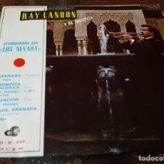 Discos de vinilo: EP RAY LANDON Y SU TROMPETA CON LOS NEVADA - GRANADA - ADIÓS GRANADA - TROMPETA MELÓDICA. Lote 172889777
