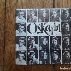 Discos de vinilo: OSKARBI - TXORI TXIKIAK + BARBERAK ESPERANTZA + NI BIZI NAIZEN LURREAN + BARATZAKO PIKUAK. Lote 172891095
