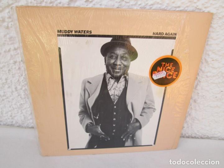 MUDDY WATERS. HARD AGAIN. LP VINILO. BLUE SKY. CBS 1977. VER FOTOGRAFIAS ADJUNTAS (Música - Discos - LP Vinilo - Jazz, Jazz-Rock, Blues y R&B)