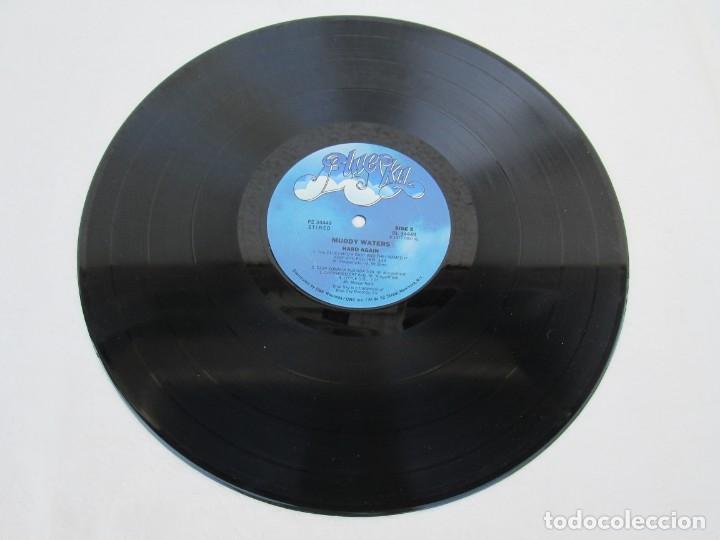 Discos de vinilo: MUDDY WATERS. HARD AGAIN. LP VINILO. BLUE SKY. CBS 1977. VER FOTOGRAFIAS ADJUNTAS - Foto 5 - 172895765