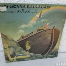 Discos de vinilo: IT´S GONNA RAIN AGAIN. SENSATIONAL NIGHTINGALES. LP VINILO. PEACOCK RECORDS 1972. VER FOTOGRAFIAS . Lote 172896065