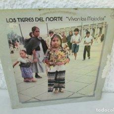 Discos de vinilo: LOS TIGRES DEL NORTE. VIVAN LOS MOJADOS. LP VINILO. HISPAVOX GAMMA 1979. VER FOTOGRAFIAS ADJUNTAS. Lote 172896777