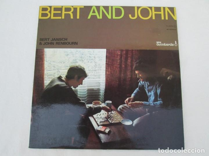 Discos de vinilo: BERT AND JHON. BERT JANSCH & JOHN RENBOURN. LP VINILO. TRANSATLANTIC ZAFIRO 1978. VER FOTOGRAFIAS - Foto 2 - 172897122