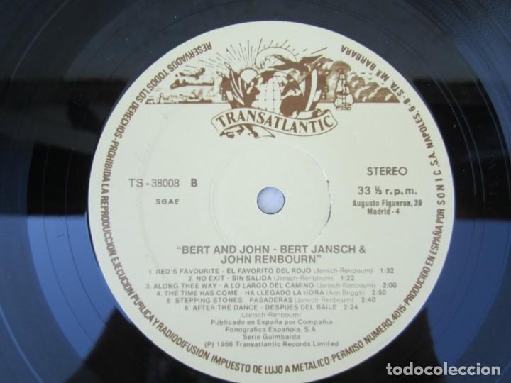 Discos de vinilo: BERT AND JHON. BERT JANSCH & JOHN RENBOURN. LP VINILO. TRANSATLANTIC ZAFIRO 1978. VER FOTOGRAFIAS - Foto 6 - 172897122