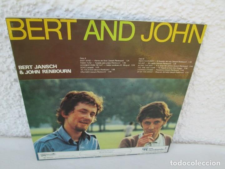 Discos de vinilo: BERT AND JHON. BERT JANSCH & JOHN RENBOURN. LP VINILO. TRANSATLANTIC ZAFIRO 1978. VER FOTOGRAFIAS - Foto 10 - 172897122