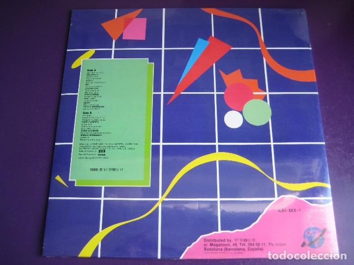 Discos de vinilo: Key Mix LP KEY RECORDS 1986 PRECINTADO - ELECTRONICA ITALODISCO - DISCO 80'S - Foto 2 - 172899252