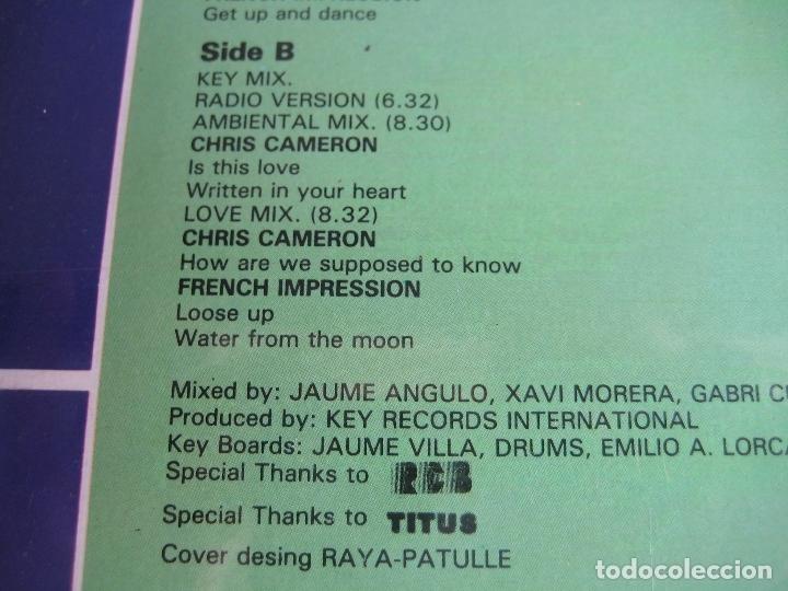 Discos de vinilo: Key Mix LP KEY RECORDS 1986 PRECINTADO - ELECTRONICA ITALODISCO - DISCO 80'S - Foto 4 - 172899252