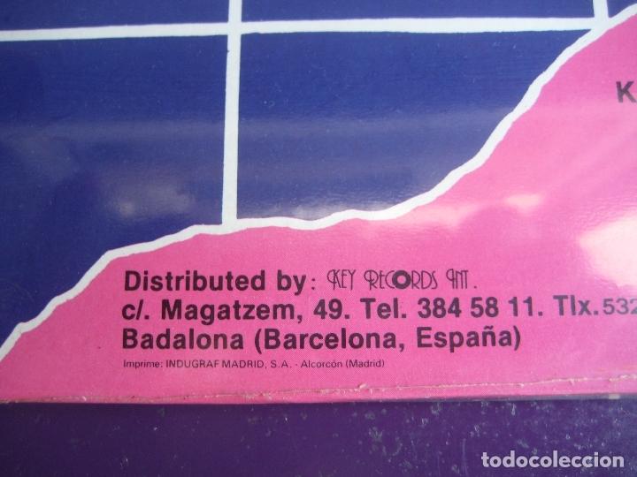 Discos de vinilo: Key Mix LP KEY RECORDS 1986 PRECINTADO - ELECTRONICA ITALODISCO - DISCO 80'S - Foto 5 - 172899252