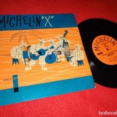 Discos de vinil: MICHELIN X UN VERDADERO DEPORTE/CHA CHA CHA DEL MUÑECO FLEXI PUBLICIDAD ESPAÑA SPAIN. Lote 172901002