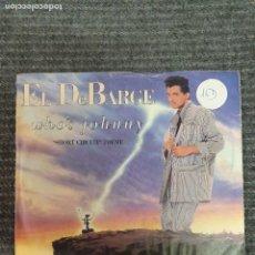 Discos de vinilo: EL DEBARGE ?– WHO'S JOHNNY SELLO: MOTOWN ?– SPBO-60260 FORMATO: VINYL, 7 , 45 RPM . Lote 172906204